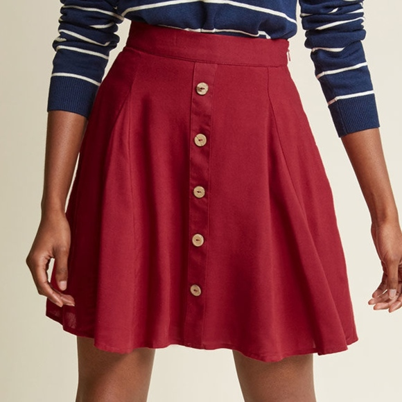 1c37d3d5ec10a1 Modcloth You Sassy Thing Skater Skirt. M_5c97feeede6f627750528297